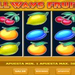 Allways Fruits Tragaperras